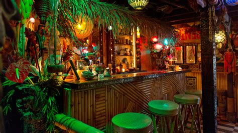 Tiki Bar by Tiki Cocktails A Day Out In Paradise The Fervent Shaker