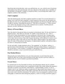 Pediatric History and Physical Exam Template