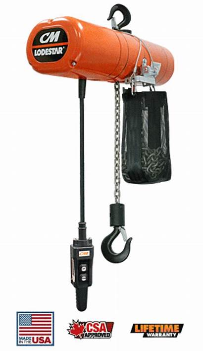 Forestry Tools Hoist Chain Lodestar Rigging Electric