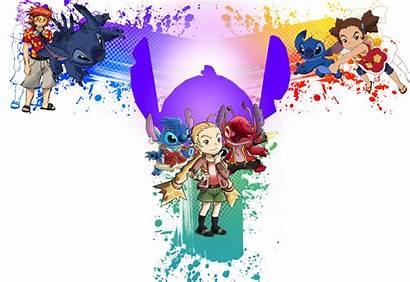 Stitch Wallpapers Desktop Lilo Background Monitor Disney