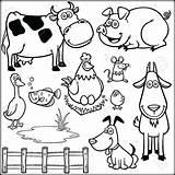 Farm Coloring Preschool Animals Animal Barnyard Printable Barn Getdrawings Adults Colouring Pdf Getcolorings Awesome Printables Sheets Worksheets Colorings sketch template