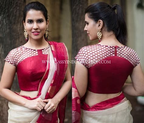 the 25 best ideas about blouse back neck designs on blouse designs saree blouse