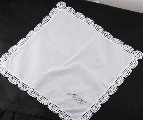 popular monogrammed handkerchiefs buy cheap monogrammed online buy wholesale personalized handkerchiefs from china