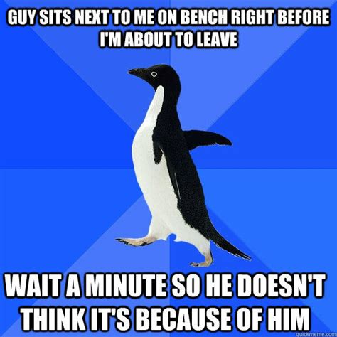 Meme Socially Awkward Penguin - socially awkward penguin memes quickmeme