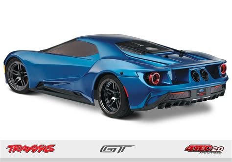 traxxas ford gt traxxas rc car onrroad ford gt 4tec 2 0 chassis 1 10