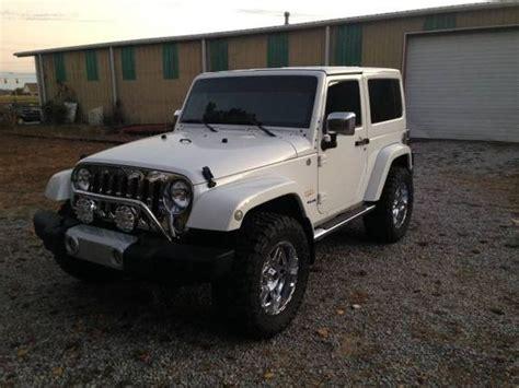 white jeep wrangler 2 door jeep wrangler sahara 4x4 white 2 door chrome package