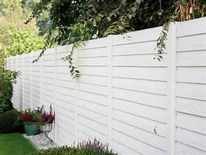Gartenzaun Holz Weiß : beckers betonzaun vertriebspartner ~ Sanjose-hotels-ca.com Haus und Dekorationen