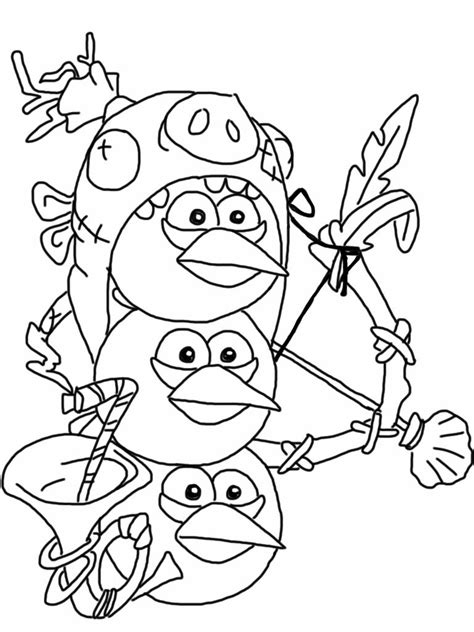 Angry Birds Epic Kleurplaat by Angry Birds Epic Coloring Page Blue Birds Animation