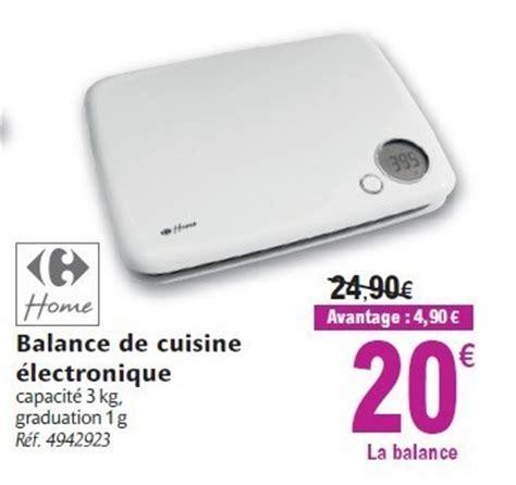 carrefour promotion balance de cuisine 233 lectronique