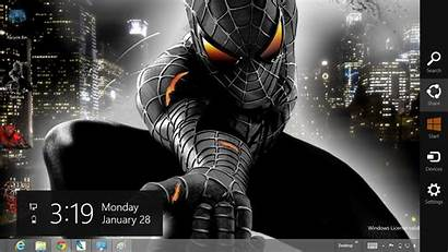 Spiderman Theme Windows Tema Wallpapers Gratis Aranha