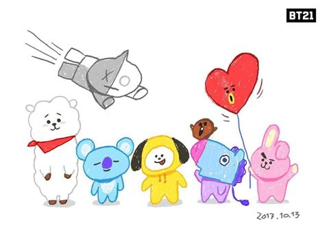 Image Result For Bt21 Characters
