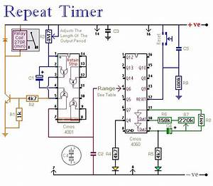 Repeat Timer Circuit Diagram  With Images