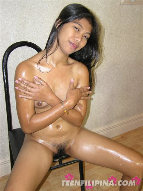 fresh nude filipina amateur oils up her tropical young