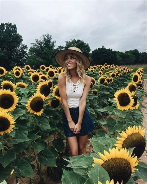 40 Best Sunflower Field Photography Shoot Ideas Images On