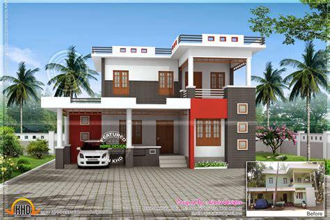 model  house kerala home design floor plans home
