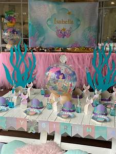 Fintastic, Mermaid, Themed, Birthday, Party, -, Pretty, My, Party