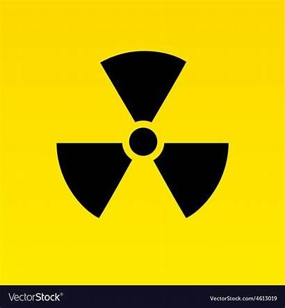 Hazard Radiation Symbol Vector Sign Royalty