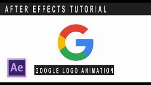 After effects tutorial:2017 Google new logo animation ...