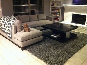 Sectional sofa area rug placement wwwenergywardennet for Sectional sofa area rug