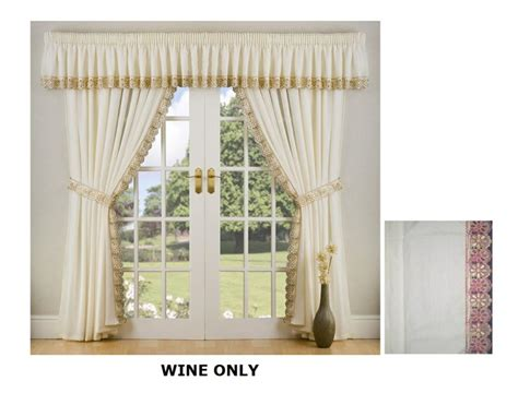 Curtain Panel Set by Tie Backs 2 Window Treatments Pinterest Curtain