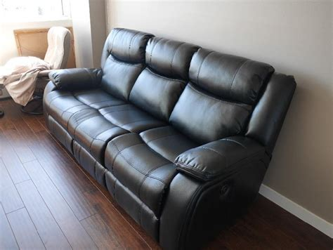 ** Recliner Leather Couch Sofa 0 Vancouver City, Vancouver