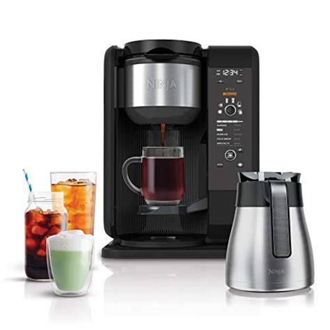 Ninja hot and cold brewed system get this coffee maker if you want something that can make you teas or prepare your favorite cold brew coffees. Best Ninja Coffee Makers 2020: Reviews, Consumer Report & FAQs