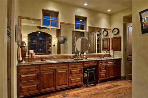 hill country ranch master bathroom traditional