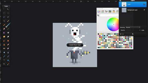 creating pixel art  pixelmator youtube
