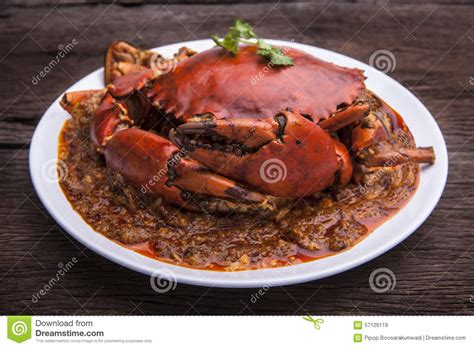 cuisine asie cuisine de l 39 asie de crabe de piments image stock image