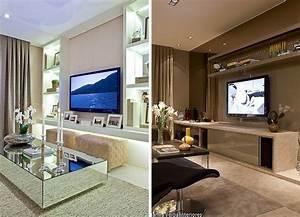 Sala de TV ou Living? Inspirações e dicas - Casa Casada