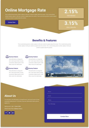 Tourism Landing Page Templates by Web Templates Cakewp