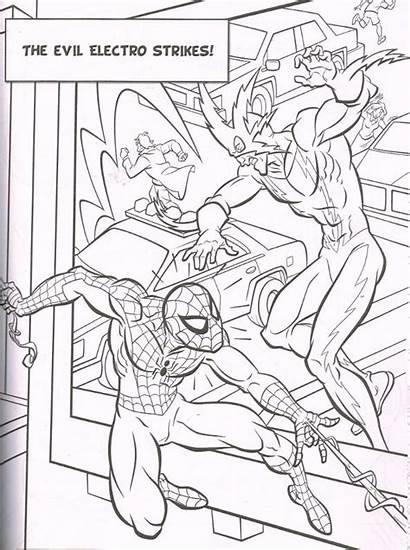 Colouring Marvel Mega Comics Heroes Super Books