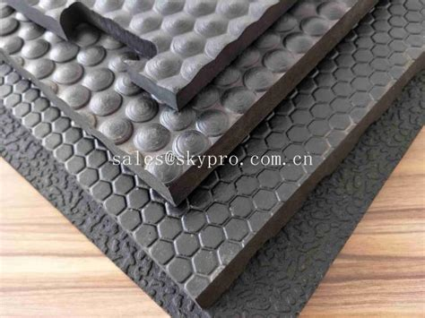ireland rubber cow matting anti skid stud orange pattern stable flooring interlocking rubber cow mats