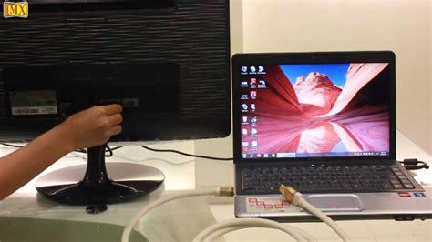 connect laptop  hdmi  external monitor