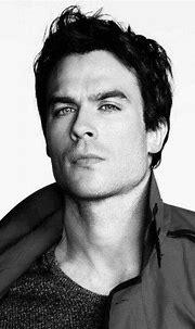 Love Black And White pics   Ian somerhalder, Damon de ...