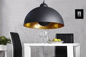 Stehlampe Schwarz Innen Gold : hanglamp model studio zwart goud ~ Bigdaddyawards.com Haus und Dekorationen