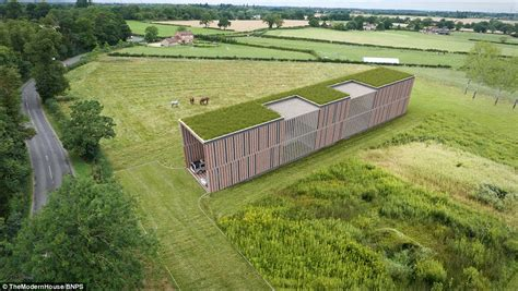 Haus Mit Grasdach by Opportunity To Build Eco Friendly Home In Uk Is For Sale