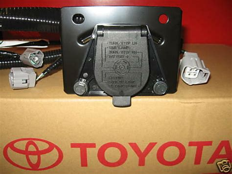 2005 Toyotum Tacoma Wiring Harnes by 2005 2015 Tacoma Trailer Tow Hitch Wire Harness 7 Pin