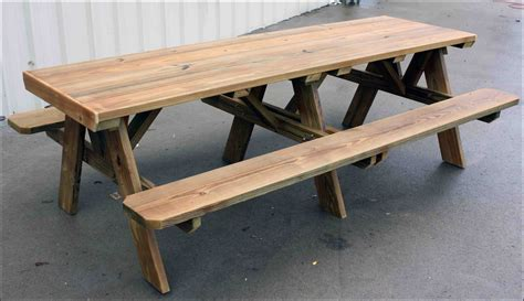 picnic table with umbrella hole picnic table bench plans 6ft redwood picnic table and 4