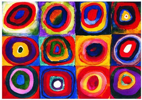 kandinsky farbstudie quadrate   teile