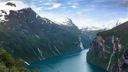 Norway Wallpapers Geirangerfjord Fjord Desktop Nature River
