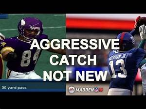 Madden 16 Vs Madden 2002 Aggressive Catch Randy Moss Is A