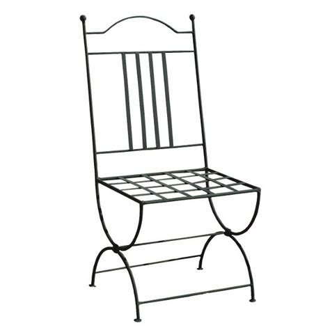wrought iron chair from morocco for home