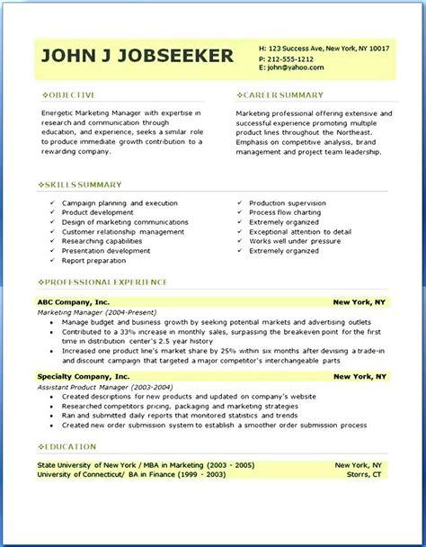 professional resume templates sample  samples
