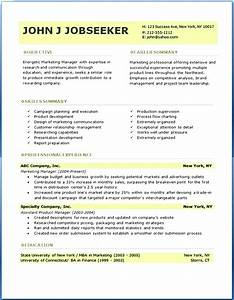 Gallery of resume curriculum vitae template for Free professional resume format