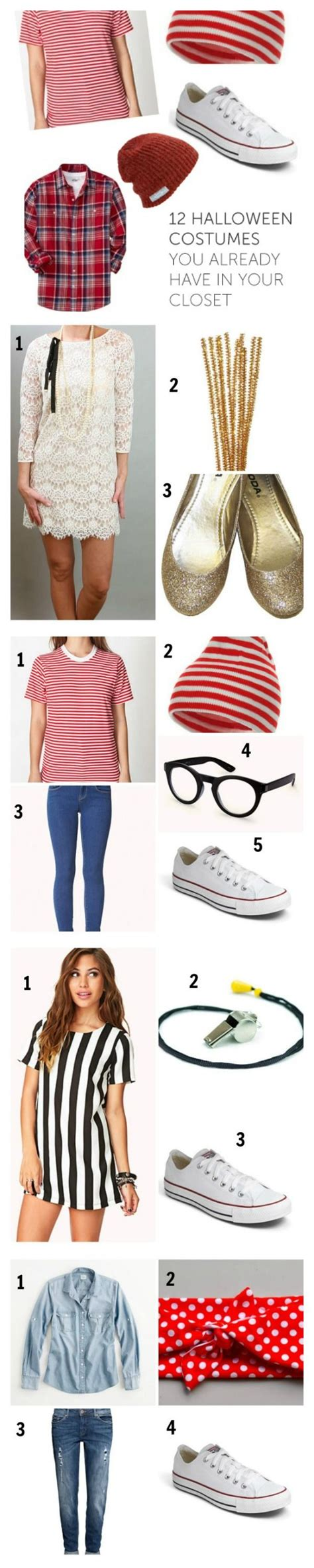 Costumes In Your Closet Ideas by 12 Costumes You Already In Your Closet