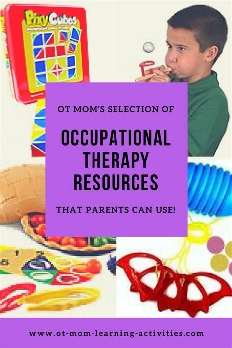 occupational therapy products  resources