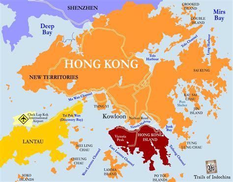 hong kong  china map printable hong kong mtr map