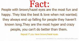 People with brown/hazel eyes...I have hazel eyes | My life ...