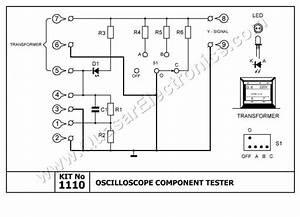 Oscilloscope Component Tester